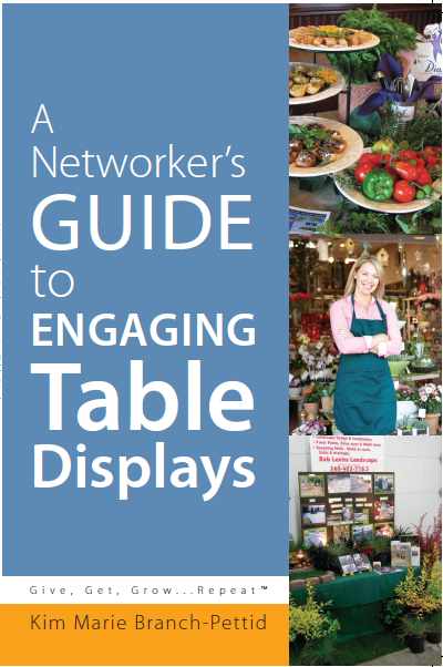 Learn how to make engaging table displays for expos, vendor fairs, etc . . .